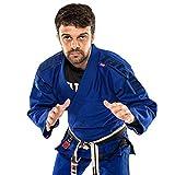 Tatami Fightwear Estilo 6.0 Azul y Azul Marino - A4