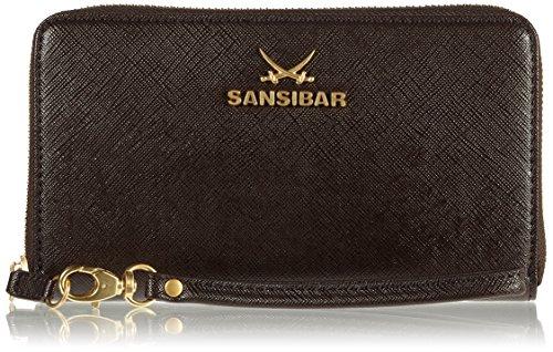 Sansibar Chic B-671 SC 01 Damen Clutches 20x11x3 cm (B x H x T) Braun (Chocolate)