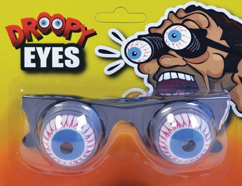 Pop Out Eye Glasses Funny Novelty Joke Mad Scientist Halloween Fancy Dress by Home & Leisure Online