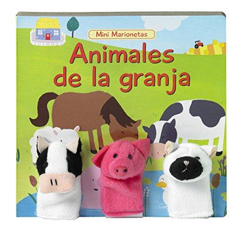 Animales de la granja (Mini marionetas n2) por Varios autores
