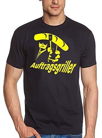 Coole-Fun-T-Shirts Herren T-Shirt Grill - Auftragsgriller