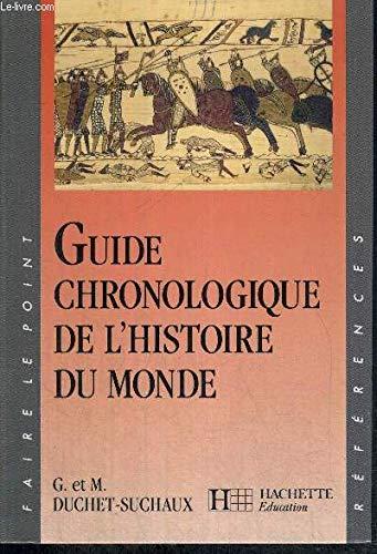 Guide chronologique de l'histoire du monde