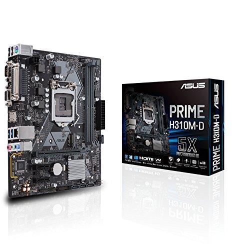 ASUS Prime H310M-D Intel H310 LGA 1151 Socket H4 microATX