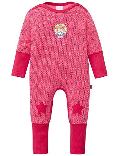 Schiesser Baby-Mädchen Zweiteiliger Schlafanzug Prinzessin Lillifee Anzug mit Vario, Rot (Pink 504), 74 (Herstellergröße: 074)