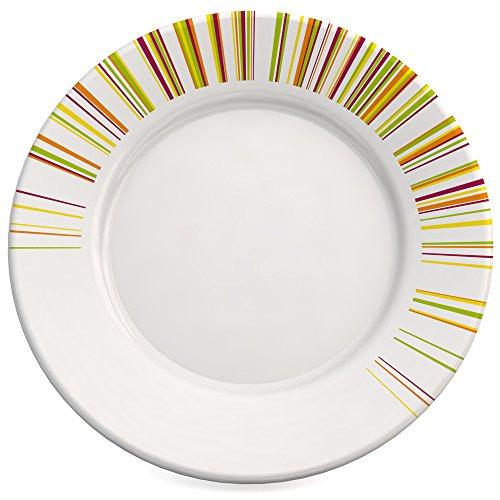 Ornamin assiette plate Ø 23 cm Bâtonnets mélamine (modèle 124)