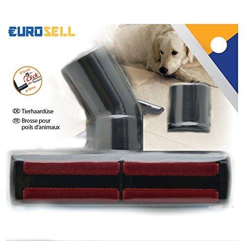 Eurosell – Profi Tierhaar Staubsauger Adapter – Katzen und Hunde - 5