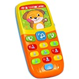 Wishtime Tiny Touch Phone Musical Sound Telephone Toys