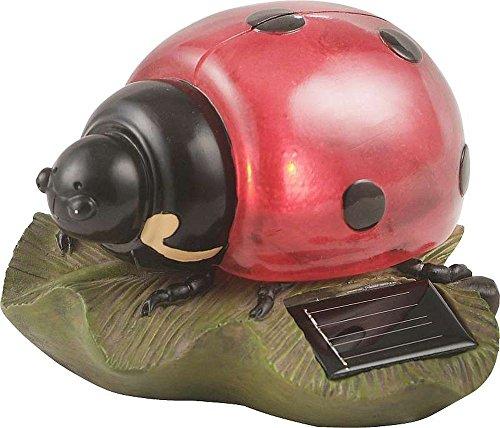 Globo IP44LED Solar Marienkäfer Lampe, Rot