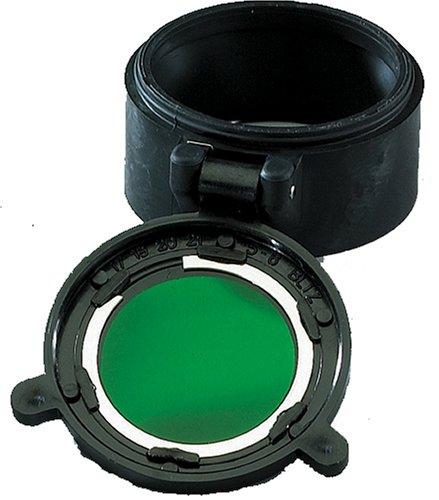 Flip Lens Filter, Green, Stinger LED/DS LED/ PolyStinger (Green Stinger)