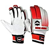#10: Birdblue Batting Gloves (Size : Men Red)