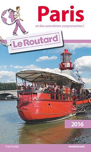 Guide du Routard Paris 2016