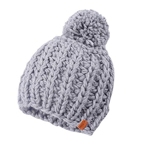 Refill Hüte, Mützen & Caps für Mädchen,Mama und Baby Stricken Wolle Winter halten warme Mütze