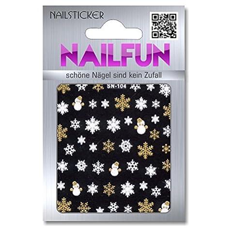 Weihnachten 3D Design Nail Sticker SN-104 Christmas Nagelsticker selbstklebend