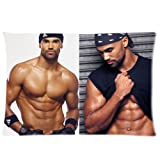 "Shemar Moore Custom Rectangle Pillow Cases Pillowcase Covers Standard Size 20""x30"" (one side)"