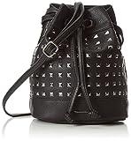 Tamaris Damen Marilu Bucket Bag Schultertaschen,Schwarz,20x22x13 cm