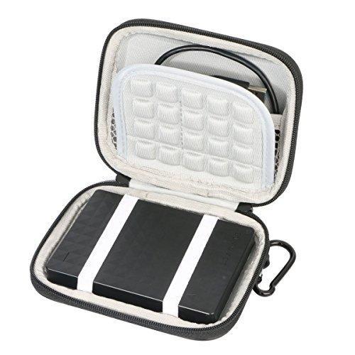Markstore, custodia rigida per disco rigido esterno da 6,3 cm Samsung M3Slimline, Toshiba, Seagate, WD My Passport