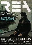 Rea Garvey ( Reamon ) - The Silence 2012 - Konzertplakat, Konzertposter