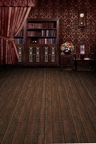 A.Monamour Arbeitszimmer Bibliothek Bücherregal Kinderraum Tapete Tuch Vinyl Wand Hochzeit Szene Fotohintergründe Foto Requisiten Bücherregal-bibliothek-wand