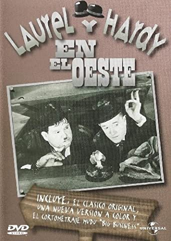 Laurel y Hardy en el Oeste