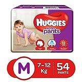 Best Huggies Diapers For Babies - Huggies Wonder Pants Diapers, Medium (Pack of 54) Review