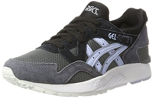 Asics Damen Gel-Lyte V Sneakers, Grau (Carbon/Skyway), 40.5 EU (Tennis Turnschuhe Asics)