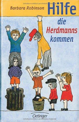 Buchseite und Rezensionen zu 'Hilfe, die Herdmanns kommen' von Barbara Robinson