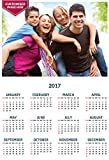 #6: Personalized Wall Calendar 2017 - Customized Photo Calender