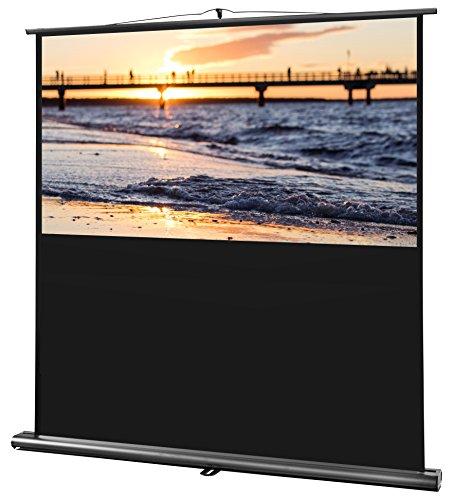 Celexon Ultra Mobile Professional, Pantalla Ultra portátil con una carcasa compacta de aluminio, Factor de ganancia 1,0, 16:10, Negro, Blanco, 160 x 100 cm