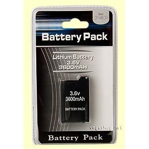 Akku 3600MAH Battery Pack für PSP Classic FAT 1000 & 1004 (NEU) – PSP