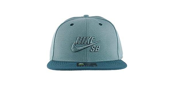 b4b9a269 Nike SB Icon Pro Snapback Hat Seaweed Green: Amazon.co.uk: Clothing
