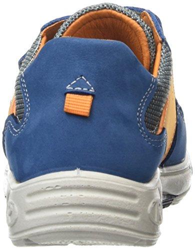 Ricosta Jochen, Sneakers basses garçon Bleu - Blue (Petrol 168)