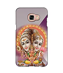 3D instyler DIGITAL PRINTED BACK COVER FOR SAMSUNG GALAXY C7