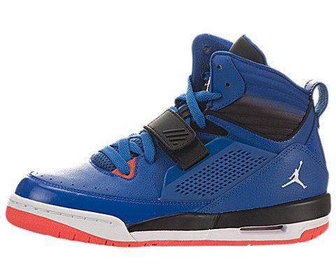 Nike Air Jordan Flight 97�BG Hi Top Trainers 654978�Scarpe da Tennis, Blu (Sport Blue White Black Infrared 23 423), 3,