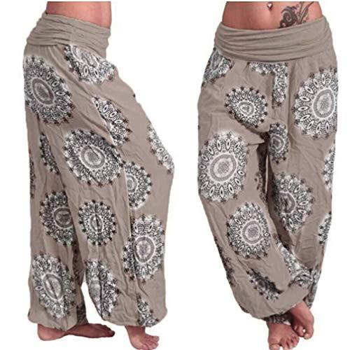 Frauen lose drucken Harem Hosen in voller länge -