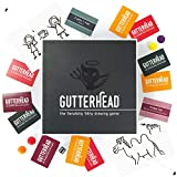 Gutterhead - The Fiendishly Filthy Drawing Game (Adult Party Board Game)