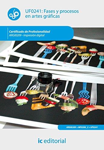 Portada del libro Fases y procesos en artes gráficas. argi0209 - impresión digital