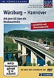 Würzburg - Hannover - Mit dem ICE über die Neubaustrecke [Alemania] [DVD]