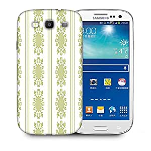 Snoogg Lite Green Pattern Printed Protective Phone Back Case Cover For Samsung S3 / S III