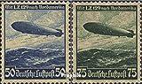 Prophila Collection Deutsches Reich 606X-607X (kompl.Ausg.) gestempelt 1936 Hindenburg Zeppelin (Briefmarken für Sammler)