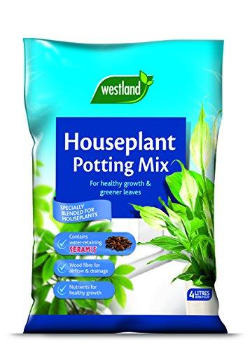 Westland 4 Litre Houseplant Potting Compost Mix Enriched with Seramis