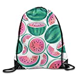 LoveBiuBiu Tropical Lightweight Drawstring Bag Sport Gym Backpack Gym Bag for Men and Women