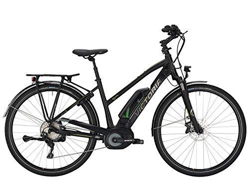 Victoria E-Trekking 8.9 E-Bike 28 Zoll Schwarz-Grün, Modell: 2019, Pedelec, Fahrrad (28 Zoll / 53cm)