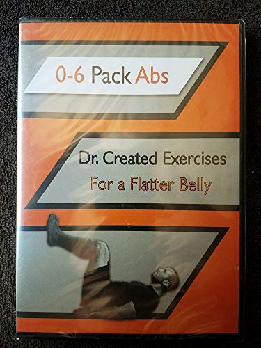 0-6 Pack Abs - Dr. Created Exercises for a Flatter Belly (DVD)