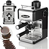 Sentik Professional Espresso Cappuccino Coffee Maker Machine Home - Office (Black)