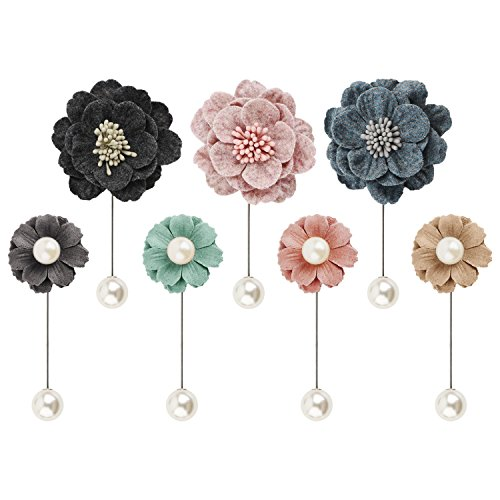 Segbeauty reg; Felt Flower Broches Alfileres