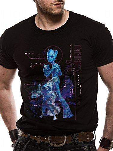 T-Shirt (Unisex-M) Neon Groot (Black) [Import anglais]