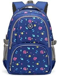 Magic Union Children Kids Backpacks Waterproof Fashion Print School Backpacks For Girls Boy Backpack School Bags... - B077XVVVLV
