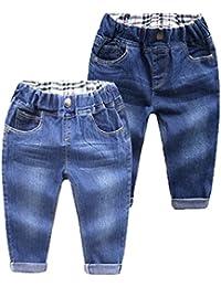 2a9808a50 WanYang Casuales Pantalones Vaqueros Para Niños Denim Jeans 1–6 Años