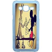 Lapinette COQUE-J5-BUNNY-WEED - Funda carcasa para Samsung Galaxy J5 diseño Bugs Bunny Mickey Disney Weed
