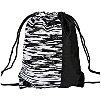 Black Temptation Mochila con cordón, Bolsa de Baloncesto/fútbol de Gran Capacidad, Bolsa de Almacenamiento, E1
